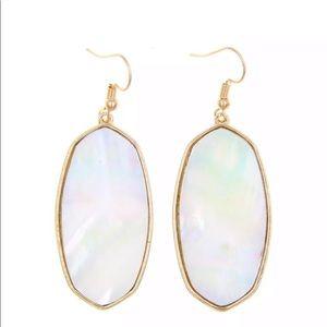 Ivory Stone Earrings